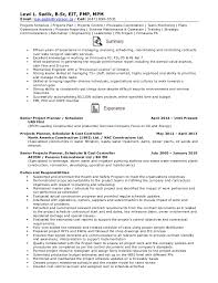 project scheduler resumes resume senior projects planner schedule