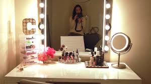 black lighted vanity mirror. full size of mirror:b awesome illuminated dressing table mirror amazon com broadway lighted vanity black n