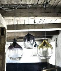 hand blown glass lighting eclectic hand blown glass pendant lights by the forest co for lighting hand blown glass lighting