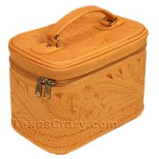 991 tooled leather cosmetic case