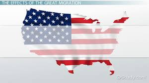 Issues Of The 1920s Cause Effect Chart The Great Migration Definition Causes