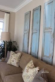 neoteric shutter wall decor 7 inspiring way to use vintage on your view in gallery three