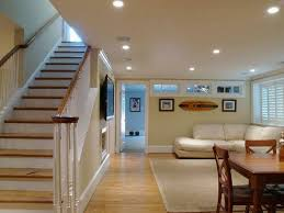 mini recessed basement lighting design basement lighting options