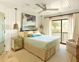 flush mount ceiling fan with light bedroom beach with bed skirt beige ceiling1