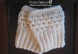 Free Crochet Boot Cuff Patterns New Free Crochet Boot Cuffs Pattern Posh Patterns