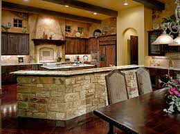 Country Rustic Kitchen Designs Contemporary French Country Sandstone Kitchen With Hardwood