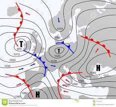 Weather Chart Stock Illustration Illustration Of Pressure