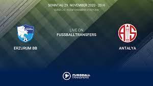 Ergebnis Erzurum BB - Antalya (2-2) 10. Spieltag Süper Lig 2020/2021 29/11