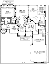 plan 89677ah two curved staircases staircases and house House Plans With 3 Car Garage Apartment plan 89677ah two curved staircases 3 Car Garage with Apartment Floor Plans