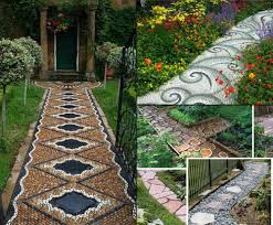 Small Picture Garden Pathways Designs HomesFeed
