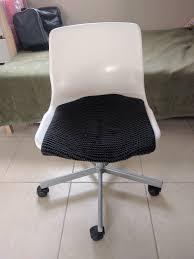 White Rolling Chair White Rolling Chair Bai Hai