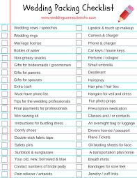 Packing Check List Your Free Checklist What You Need To Pack For A Stress Free