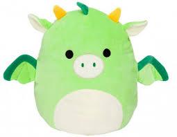 Мягкая <b>игрушка Squishmallows</b> сквиш <b>антистресс</b> Зеленый ...