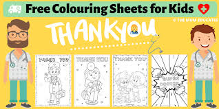 Please find your favorite coloring pages to download, print and color with your friends in your free time. Free Colouring Sheets For Kids Doctors Nurses Nhs The Mum Educates