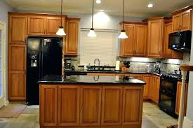 cherry cabinets with white countertops cabinet natural a marble