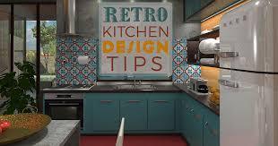 colorful cabinets retro kitchen designs