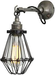 edom industrial cage wall light wall