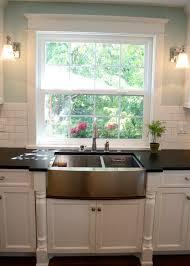 kitchen sink window decor innovative farm
