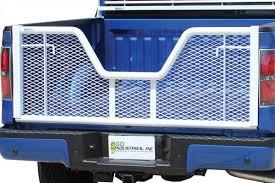 Go Industries White Painted V-Gate Tailgates | 4WheelOnline.com