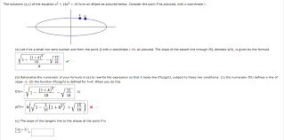the solutions x y of the equation x2 16y2 16 form
