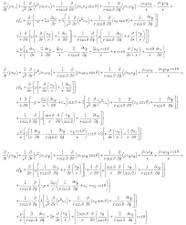 derivation of navier stokes equation in spherical coordinates