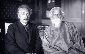 albert einstein socialchange like einstein tagore believed in education as a creative force he founded his own school shantineketan that emphasized music drama and other arts