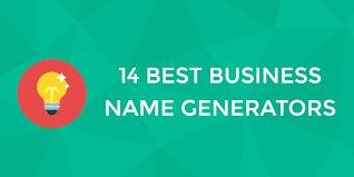 best business name generators to help