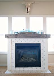 Tile Fireplace Makeover Fireplace Makeover The Final Reveal Averie Lane Fireplace