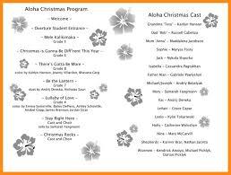 Christmas Program Templates 9 10 Free Christmas Program Template Lascazuelasphilly Com