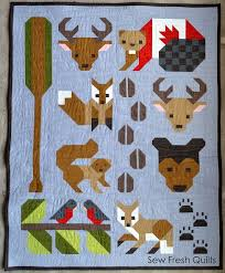 Best 25+ Animal quilts ideas on Pinterest | Elizabeth hartman ... & Forest Friends pattern release (Sew Fresh Quilts) Adamdwight.com