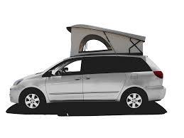 Toyota Sienna Pop Top Camper Van In 2021 Pop Top Camper Camper Van Toyota Sienna