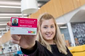 student card nottingham t university