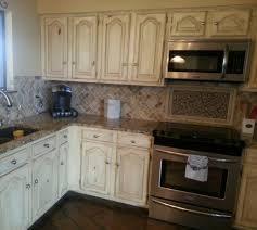 antiqued kitchen cabinets incredible 22 black distressed diy benjamin moore mozart blue