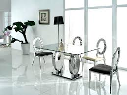 glass contemporary dining table modern dining table set modern glass dining table extendable modern dining room