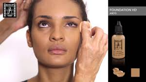 how to apply hd foundation