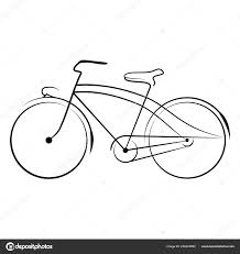 стимпанк велосипедов винтаж вектор иллюстрация белом фоне новый