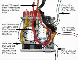atx power supply to dc bench supply build no 2 pcb smoke Pc Power Cord Wiring Diagram routing wires inside the power supply case pc power supply circuit diagram