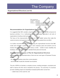 Report Business A Business Report Under Fontanacountryinn Com