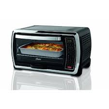 oster large capacity countertop 6 slice digital convection toaster oven black polished stainless tssttvmndg com