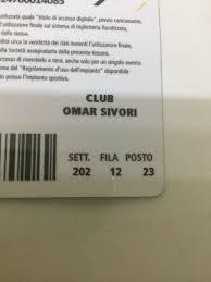 2 biglietti Juventus Sassuolo in 10141 Torino for €150.00 for sale