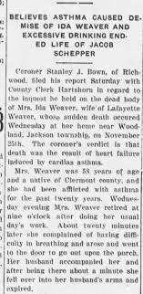 Ida McGill Weaver - Newspapers.com