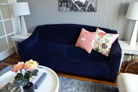 Navy Living Room Living Room With Navy Blue Sofa Yes Yes Go