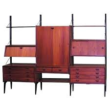 wall unit with drop down desk and office desks furniture danish design high mounted front victorious