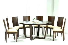 what size round table seats 8 size of rectangle table to seat 8 round table seating