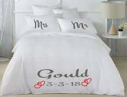 personalized hand painted bedding set