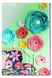 big bloom diy paper flowers