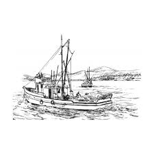 Small Picture Fishing Boat Coloring Pages GetColoringPagescom