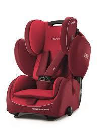 recaro child car seat young sport hero indy red 2018 large image 1