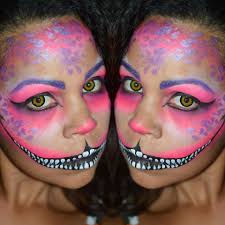 chesire cat face make up
