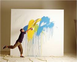 diy spray paint art canvas is it ok to use house paint for art